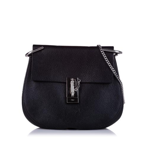 Chloe Drew Leather Crossbody Bag