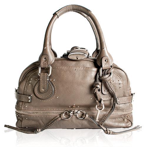 Chloe East/West Paddington Zippy Satchel Handbag