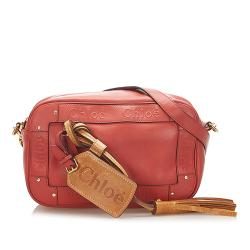 Chloe Eden Leather Crossbody Bag