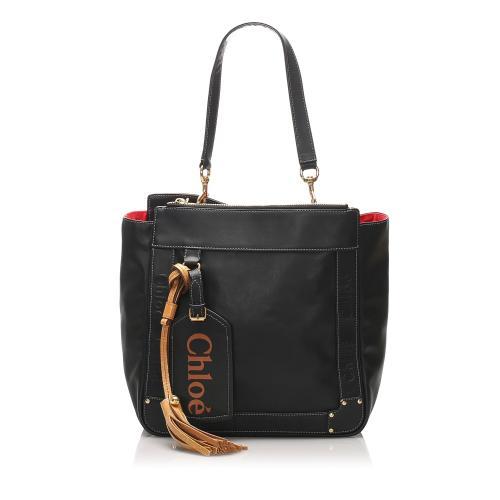Chloe Eden Leather Tote Bag