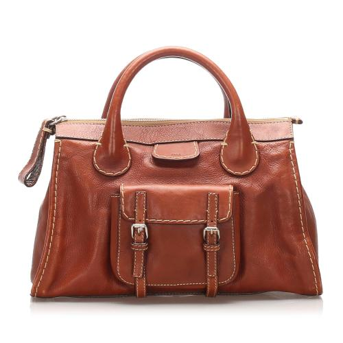 Chloe Leather Edith Satchel