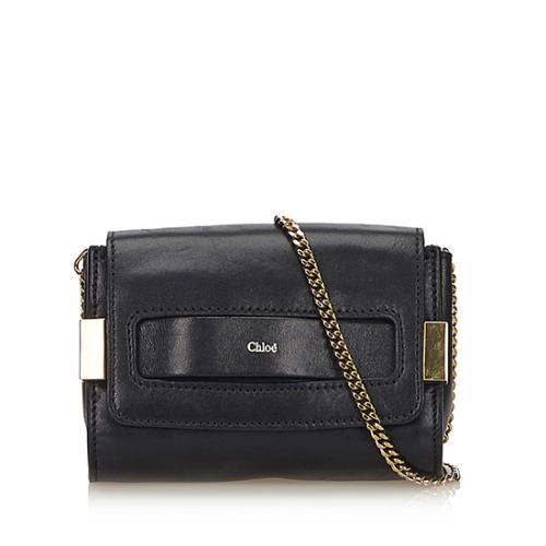 Chloe Lambskin Elle Chain Mini Crossbody Bag