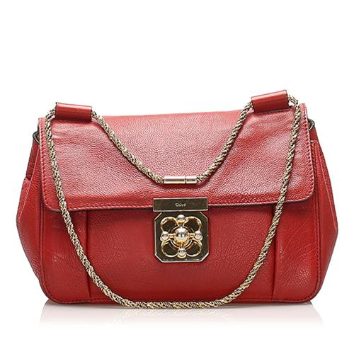 Chloe Elsie Leather Crossbody Bag