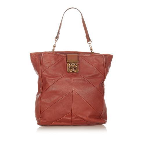 Chloe Elsie Leather Tote Bag