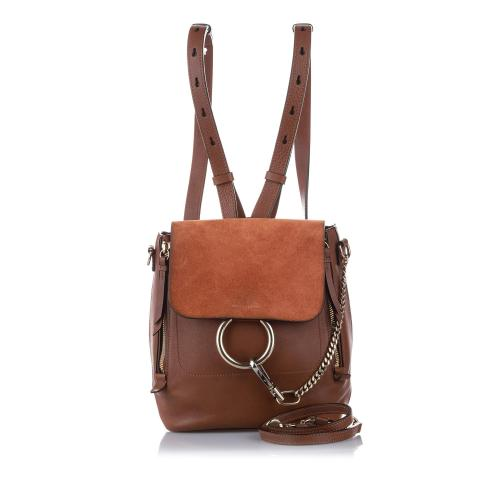 Chloe Calfskin Faye Backpack