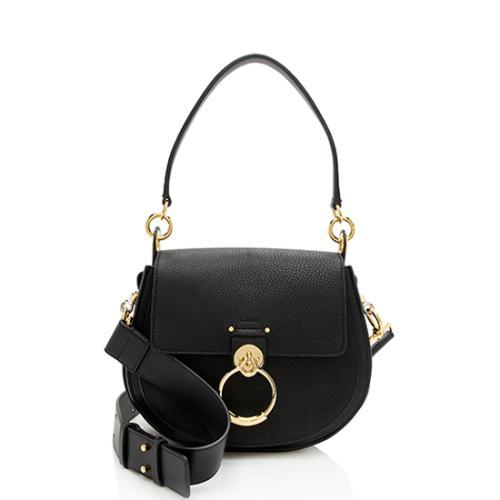 Chloe Calfskin Tess Large Shoulder Bag