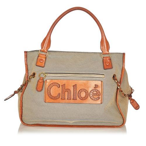 Chloe Haley Canvas Handbag