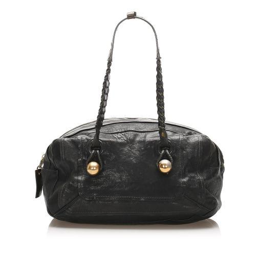 Chloe Heloise Leather Shoulder Bag