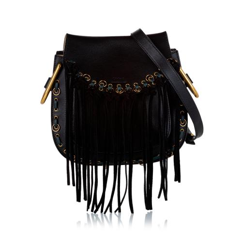 Chloe Hudson Fringe Leather Crossbody Bag