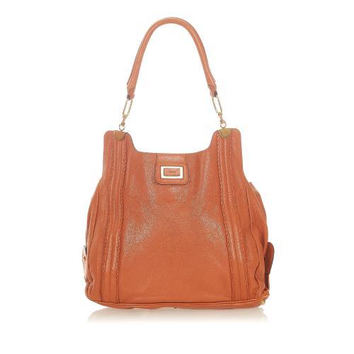 Chloe Irene Leather Shoulder Bag
