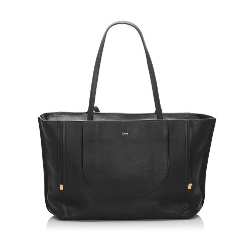 Chloe Isa Leather Tote Bag