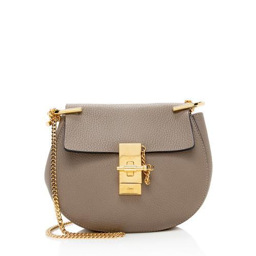 Chloe Lambskin Drew Mini Shoulder Bag