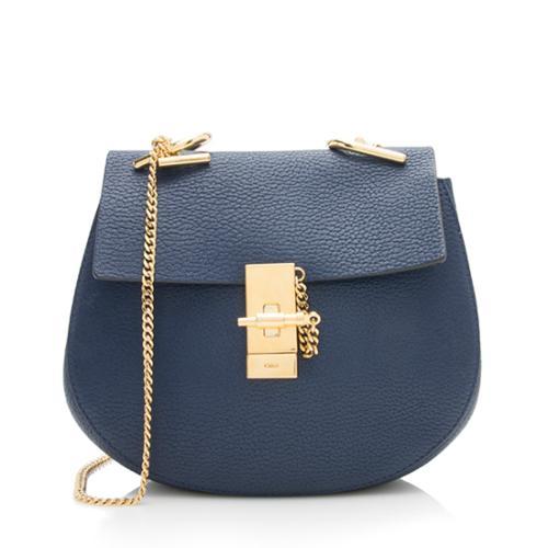Chloe Lambskin Drew Small Shoulder Bag