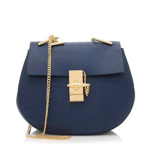 Chloe Lambskin Drew Small Shoulder Bag