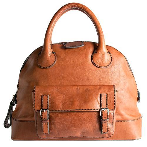 Chloe Large Edith Bowler Satchel Handbag