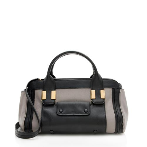 Chloe Leather Alice Mini Satchel