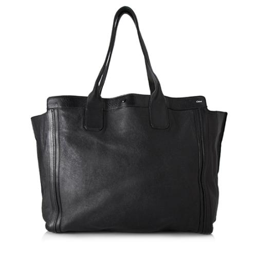Chloe Leather Alison East/West Tote