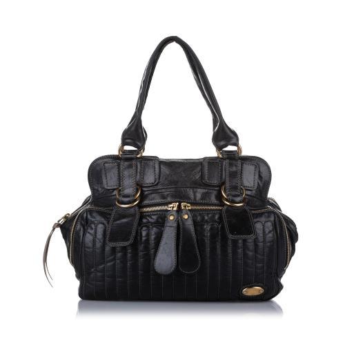 Chloe Leather Bay Handbag