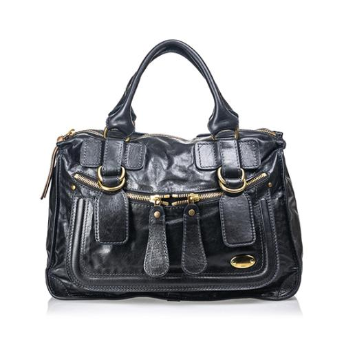 Chloe Leather Bay Small Satchel