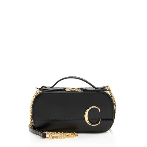Chloe Leather C Multi Compact Shoulder Bag