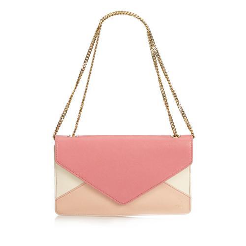 Chloe Leather Chain Shoulder Bag