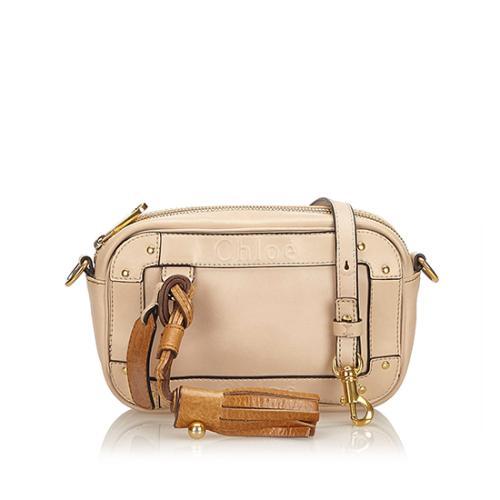 Chloe Leather Eden Mini Crossbody Bag