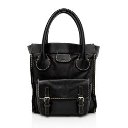 Chloe Leather Edith Large Tote