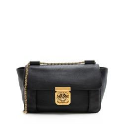 Chloe Leather Elsie Medium Shoulder Bag