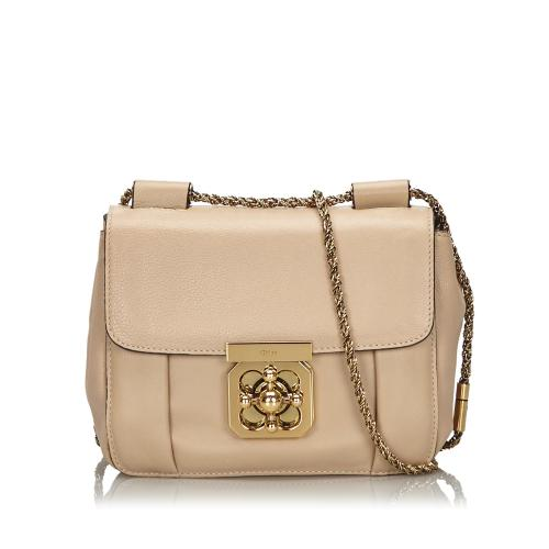 Chloe Leather Elsie Shoulder Bag