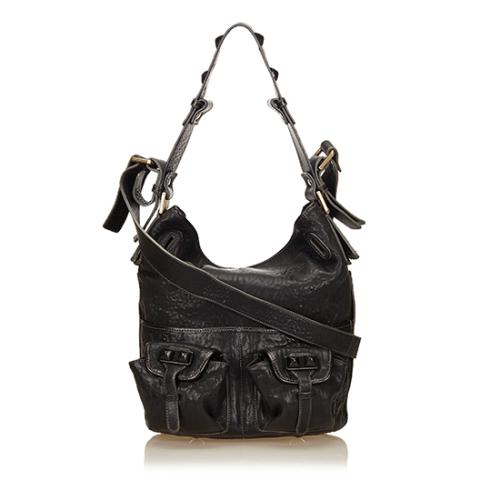 Chloe Leather Elvire Shoulder Bag