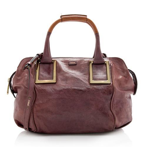 Chloe Leather Ethel Zipped Shopping Tote