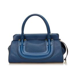 Chloe Leather Everston Satchel