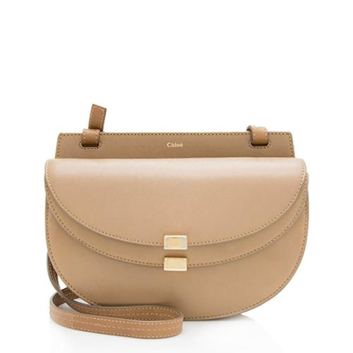 Chloe Leather Georgia Mini Shoulder Bag