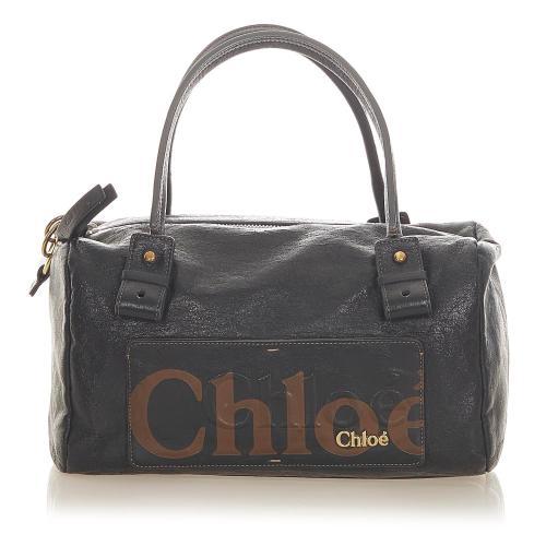 Chloe Leather Haley Handbag