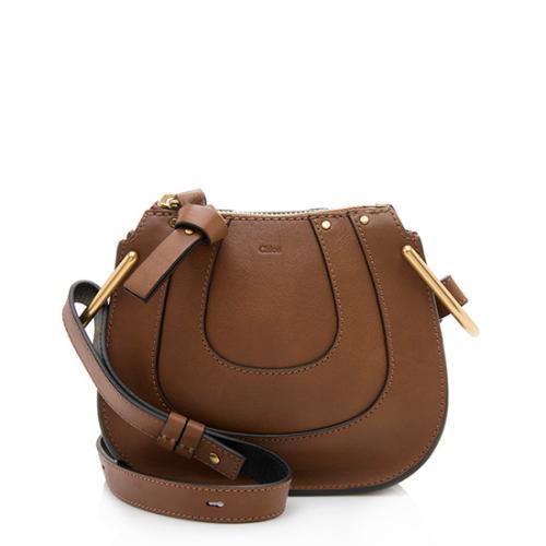 Chloe Leather Hayley Nano Shoulder Bag
