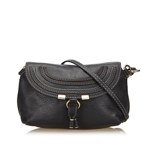 Chloe Leather Marcie Small Crossbody Bag - FINAL SALE