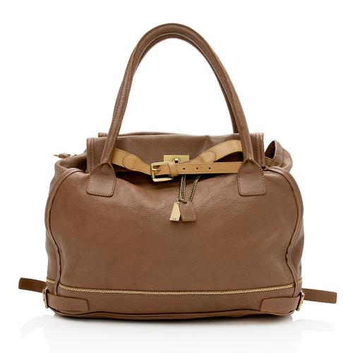 Chloe Leather Marlow Shopper Tote