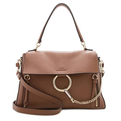 Chloe Leather Medium Faye Day Shoulder Bag