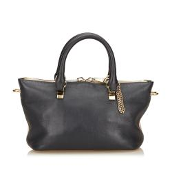 Chloe Leather Baylee Mini Satchel