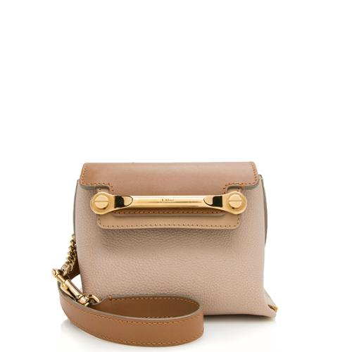 Chloe Leather Clare Mini Shoulder Bag