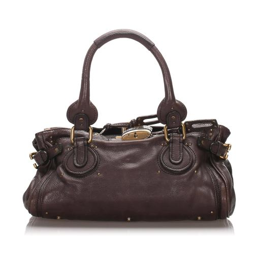 Chloe Leather Paddington Satchel