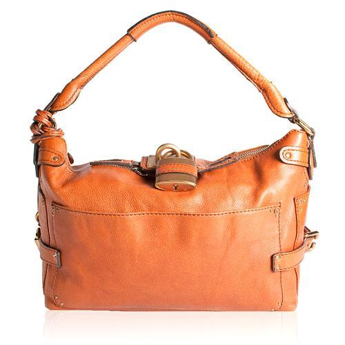 Chloe Leather Paddington Hobo Handbag