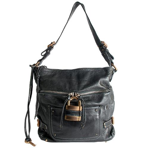 Chloe Leather Paddington Hobo Handbag