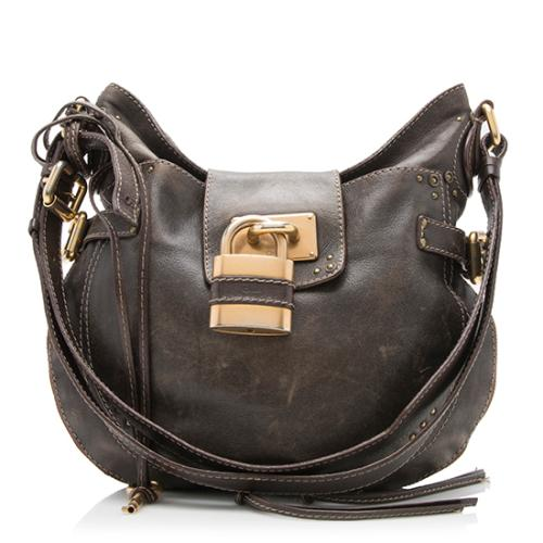 Chloe Leather Paddington Hobo