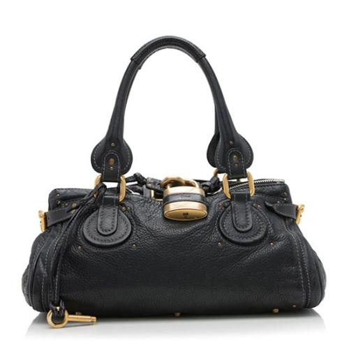 Chloe Leather Paddington Medium Satchel - FINAL SALE