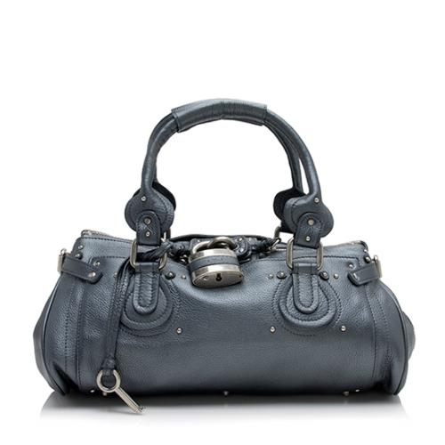 Chloe Leather Paddington Medium Satchel