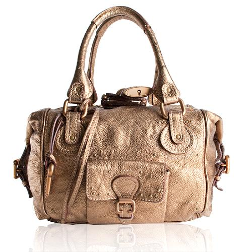 Chloe Leather Paddington New Satchel Handbag