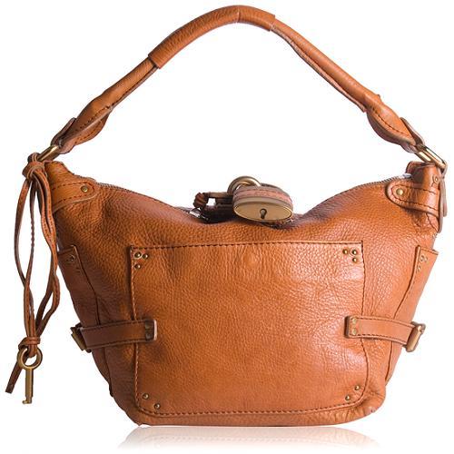 Chloe Leather Paddington Shoulder Handbag