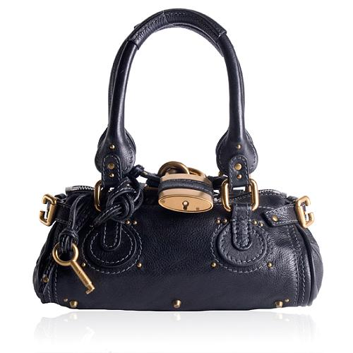 Chloe Leather Paddington Small Satchel Handbag