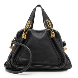 Chloe Leather Paraty Small Satchel - FINAL SALE